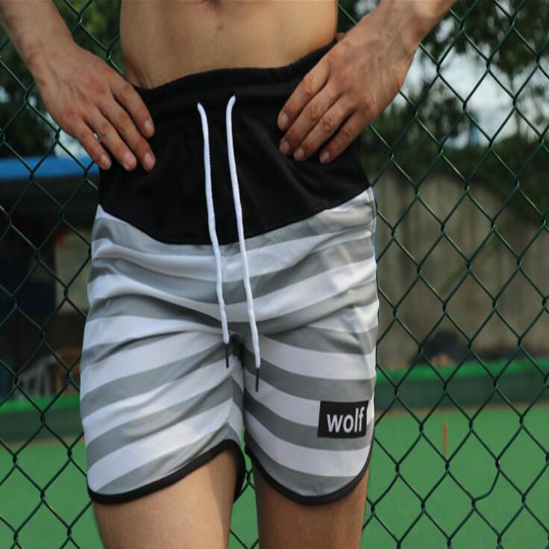 2019 Swimwear Beach Trunks Beach Board Swimming Surf Short Quick Drying Pants For Men M193 in Surfing Beach Shorts from Sports Entertainment