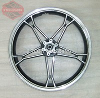 OEM QUALITY GN250 FRONT ALUMINUM WHEEL RIM COMPLETE wheel size is 1.80*18