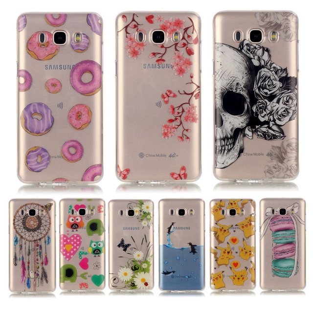 quality design dfa44 3ba01 US $1.89 5% OFF|Soft TPU Silicone case sFor Fundas Samsung Galaxy J5 2016  J510F J510 case For Samsung Galaxy J5(6) Transparent Phone Case Cover-in ...