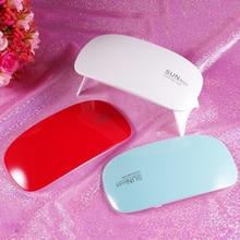 QIPAI High Quality UV Nail Lamp Dryer USB Cable Manicure Machine Portable Mini L