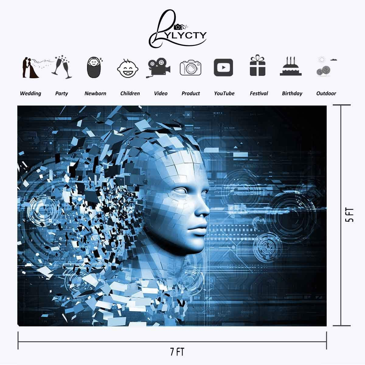 150x220cm Technological Innovation Backdrop Technological Innovation Potential Risks Photography BackgroundPhoto Screen in Photo Studio Accessories from Consumer Electronics