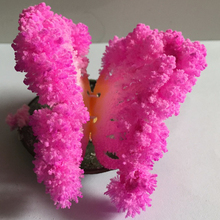 50PCS 65mm W Pink Growing Magic Paper Butterfly Tree Artificial Magically Christmas Trees Educational Kids Science Toys Novelty