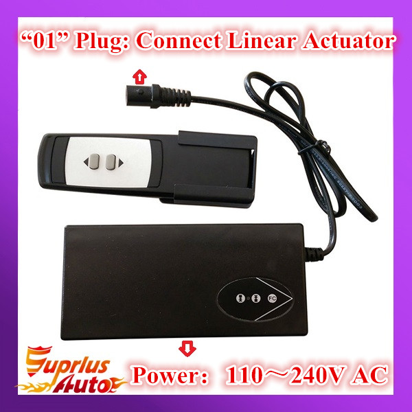 AC100-240V Input Wireless Type 12/24V DC Ouput Linear Actuator Controller/ Power Supply For Unit Linear Actuator
