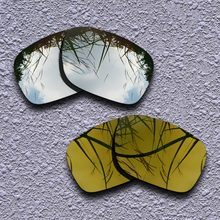 a078fb33dfa70 De titanio de plata y bronce dorado polarizadas lentes Oakley Holbrook gafas  de sol