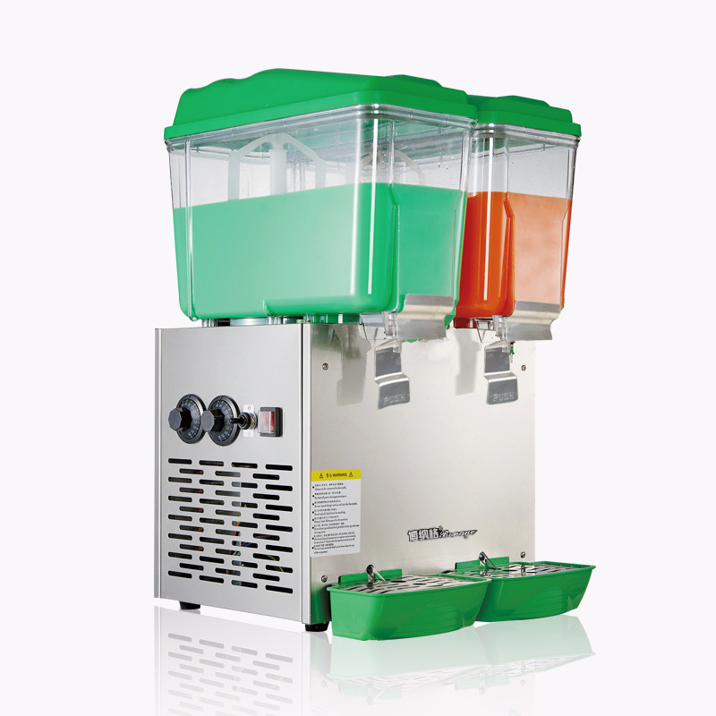 где купить 30L Double Cylinder Cold and Hot Drink Machine Beverage Dispenser Juice Dispenser for Milk Tea Shop PL-230C по лучшей цене