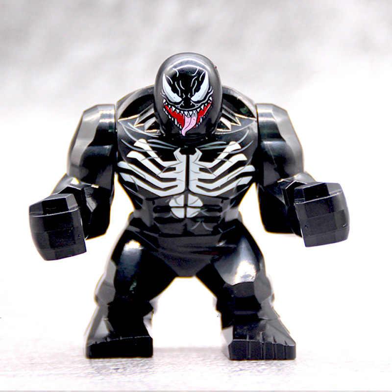 legoingly Marvel Super Heroes Avengers 4 Big Venom Large Green Hulk Thing Building Block Figures Toys For Children wy30
