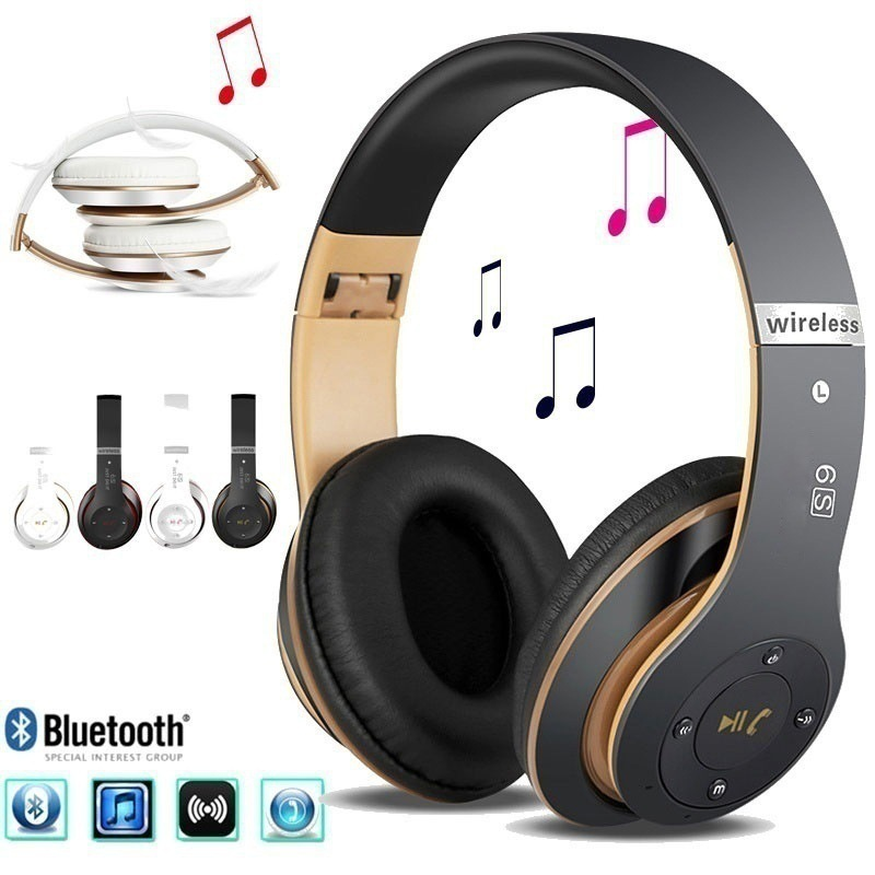 New Music Bluetooth stereo headphones wireless headphones Bluetooth 4.2 headset on-Ear headphones new bluetooth headset wireless headset folding headphones mp3 player fm radio music stereo headphones for xiaomi headphones