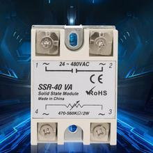 цена на Solid State Relay SSR-40VA Solid State Relay For Industrial Automation Process SSR-40VA Voltage Relay