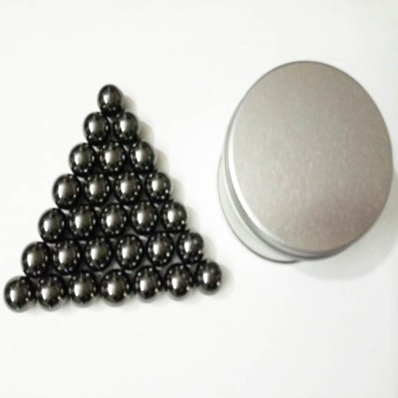 27Pcs 15MM Magnetic Neodymium Magic Cube Bucky Puzzle Magcube Balls Blocks Neo Cube Toys with Metal