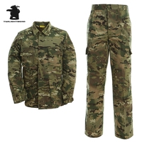 Wholesale Army Combat Camouflage Suits High Quality Plus Size Simple BDU Camouflage Clothing Suits MULTICAM BDUS