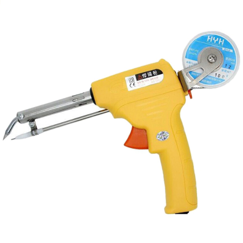 NL - 106A 60W Portable Heat Resistant Manual Soldering Gun One-Hand Lead-Free Tip Operational Staunless Steel Welding Equipment цена