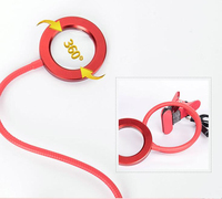 USB 1X 3.5X LED Lamp Clip Magnifying Glass Reading Cold Light Magnifier for Beauty Nail Tattoo Adjustable Brightness
