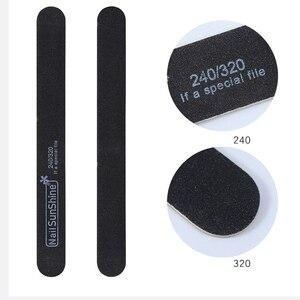 5 шт./компл. ультратонкая профессиональная пилка для ногтей, шлифовальные полировальные буферные полоски, инструменты для педикюра, маникюр...