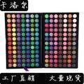 Portátil de 168 Colores de Sombra de Ojos Cosméticos Sombra de Ojos Set de Maquillaje Paleta Neutral Shimmer Mate