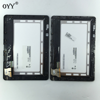 LCD Display Touch Screen Digitizer Glass Panel Replacement Parts With Frame For ASUS Transformer Pad TF103