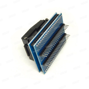 Image 5 - TQFP44 zu DIP44/LQFP44 zu DIP44 Programmierer Adapter Buchse für RT809H & TNM5000 programmierer & XELTEK USB programmierer Gute qualität
