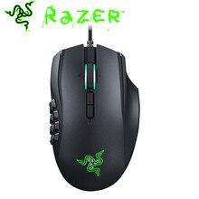 4a3311bc8ec Razer Naga Chroma Mouse For Gamer 16000 DPI 5G Sensor Wired 1000 HZ  Ergonomic Optimized for