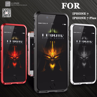 SFor IPhone 7 Case Original Luphie Metal Bumper Luxury Aviation Aluminum CNC Frame Cover Case For