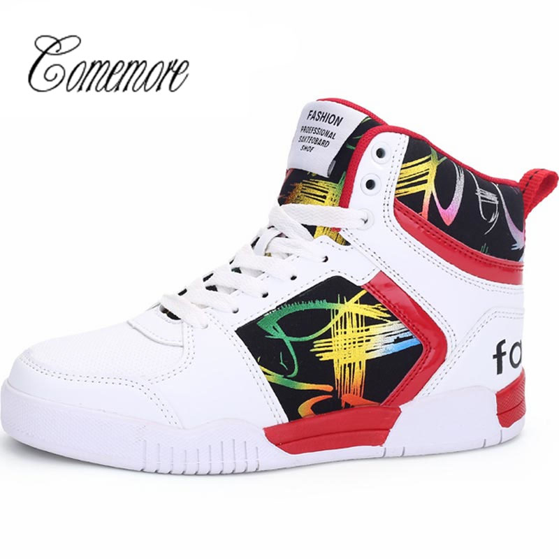 Comemore  Summer Women Sport Sneakers Woman Sports Shoes Men Running Shoes Woman Gym Shoes Women High Top Krasovki White