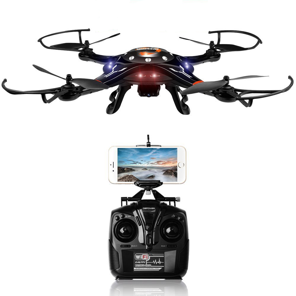 Cheerson CX-32W CX32W Wifi FPV Drone with 2.0MP HD Camera Live Video Altitude Hold One Key Return 2.4Ghz 4CH RC Quadcopter jjr c jjrc h26wh wifi fpv rc drones with 2 0mp hd camera altitude hold headless one key return quadcopter rtf vs h502e x5c h11wh
