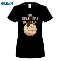 GILDAN 최신 패션 소식통 T 셔츠 여성 죽음 A 학사 패닉 동시에 디스코 목 짧은 소매 일반 티 셔츠