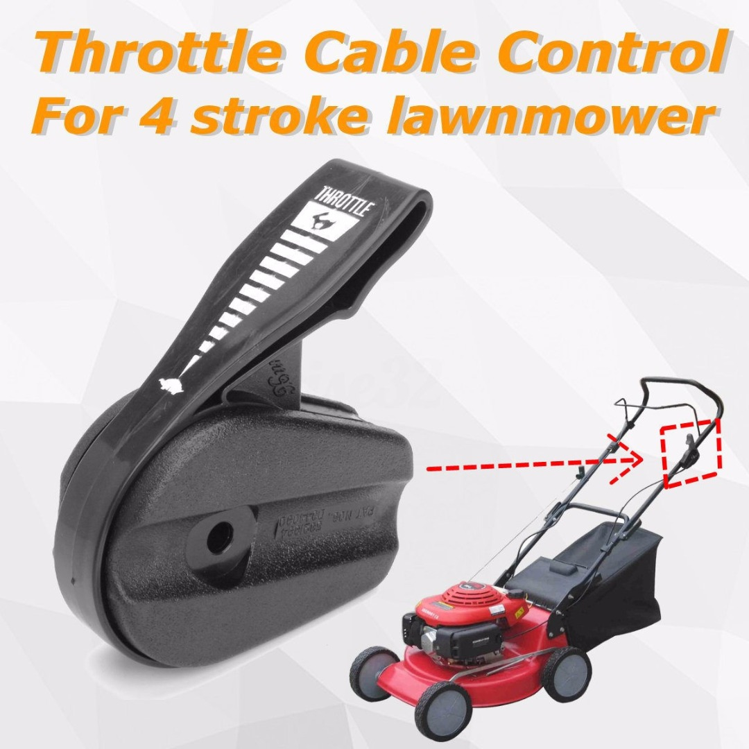 Mayitr Lawn Mower Throttle Cable Control For 4 Stroke