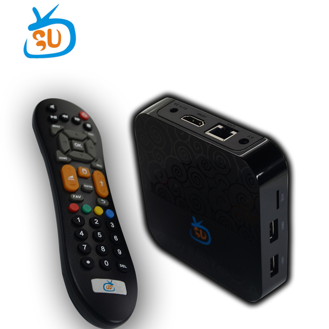 US $108 0 |GOTV IPTV BOX Amlogic S905X Quad Core Android 7 1 TV Box 1GB 8GB  H 265 4K Set Top Box-in Set-top Boxes from Consumer Electronics on
