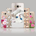 CROWNPRO For Samsung J7 Neo Silicone Soft Back Protective Case Cover For Samsung J7 Neo Case J7NXT Cute Painting Phone Cases
