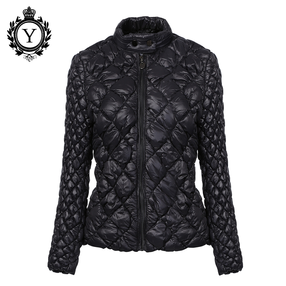 COUTUDI 2018 Hot Ultralight Solid Coats   Parka   Women Winter Jacket Unique Style Women's Jackets Short Warm Waterproof Thin Coat