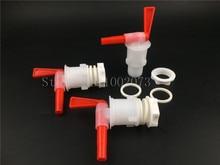 3pcs/lot,Bottling Bucket Plastic Spigot,Tap replacement spigot For DIY Home brewing Beer Wine Bottling
