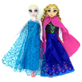 Princess Elsa Anna Dolls Baby Kids Toys for Girl Sharon Doll Brinquedos Free Shipping
