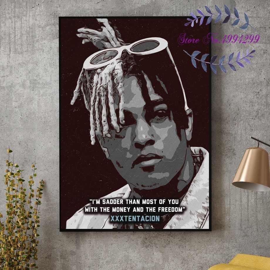 Art Poster 013 XXXTentacion Rap Hip Hop Music Star Singer