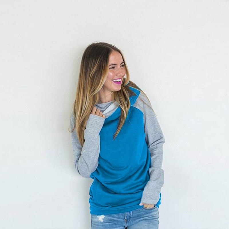 elsvios 2017 double hood hoodies sweatshirt women autumn long sleeve side zipper hooded casual patchwork hoodies pullover femme ELSVIOS 2017  hoodies, Autumn Long Sleeve HTB1a4FDaWmgSKJjSsplq6yICpXae