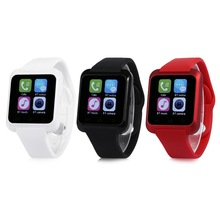 Mode-Design U80-1 Smart Bluetooth Uhr Call Nachricht Erinnerung Schlafüberwachung Fernbedienung Telefon Kamera 3 Farbe Smartwatch