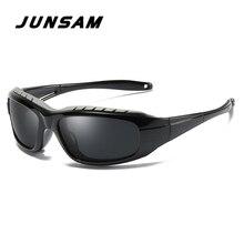 JUNSAM Transição Photochromic Polarizada Óculos dos homens de óculos de Sol  Óculos de Jogo de Guerra Tático Militar Do Exército . e0cb6d89e6