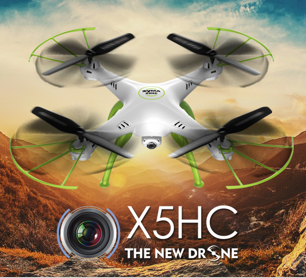 Outdoor Indoor SYMA HD X5HC 2.4G 4CH RC Helicopter Quadcopter Toys Remote Control Drone with Camera For Kids Children Boys Adult for syma x8sw x8sc remote control helicopter 3pcs battery and the us regulatory charger with 1 care 3 conversion line