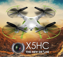 Outdoor Indoor SYMA HD X5HC 2.4G 4CH RC Helicopter Quadcopter Toys Remote Control Drone with Camera For Kids Children Boys Adult