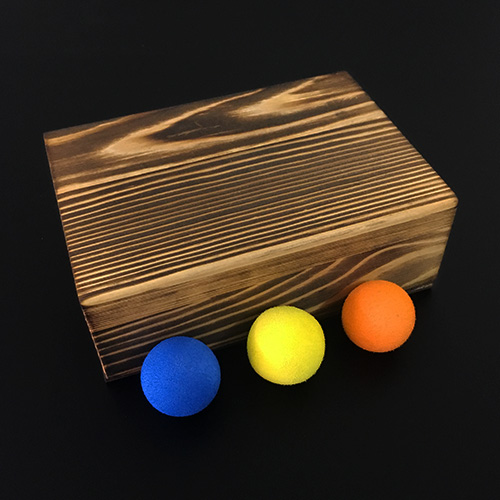 Balls In Box (Deluxe) By Lu Chen,Gimmick,Stage Magic Illusions Magic Props Party Magic Show,Creative Magic Tricks Magician Toys