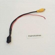 Дисплей Вход провод RCA для Nissan Qashqai/Juke/Dualis 2007~ 2013 задняя камера переключатель кабель переходника