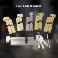 Kupfer Core Hardware Türschlösser Sicherheit Locking Zylinder mehr als 70mm 80mm für 35 50mm Dicke türschloss für home-in Schließzylinder aus Heimwerkerbedarf bei