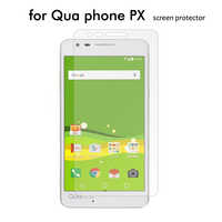 100x 2.5D LGV33 PHONE PX Tempered Glass Screen Protector For QUA phone PX screen glass protector film cover + retail package