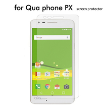 100x 2.5D LGV33 PHONE PX Tempered Glass Screen Protector For QUA phone screen glass protector film wholesale + retail package