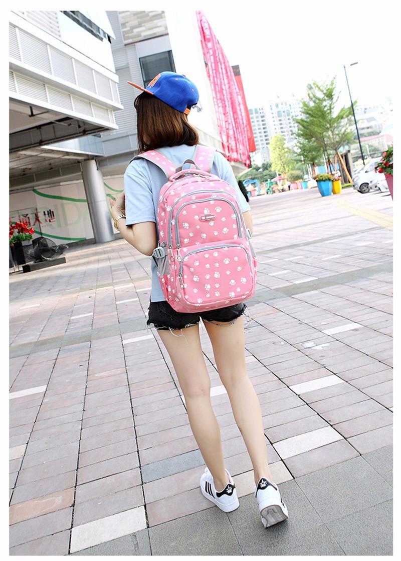Fashion kids book bag breathable backpacks children school bags women leisure travel shoulder backpack mochila escolar infantil 2