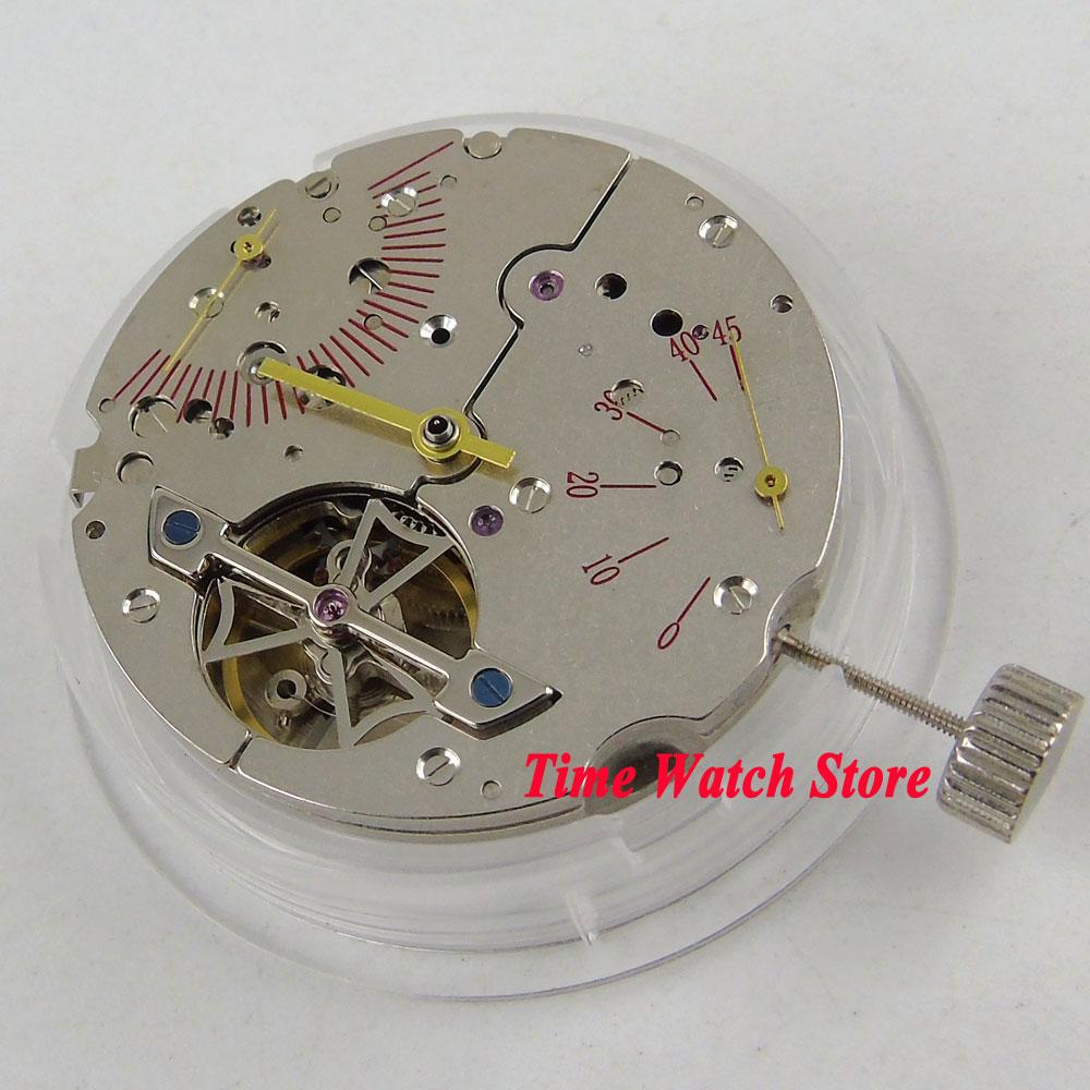 ST2505 movimiento clásico de reserva fecha mecánico automático movimiento M19-in Esferas de reloj from Relojes de pulsera    1