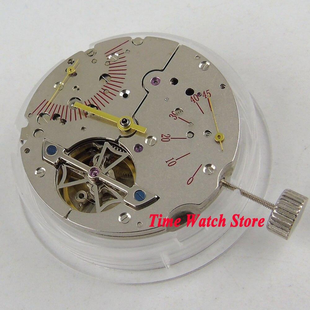 St2505 시계 무브먼트 클래식 파워 리저브 날짜 기계식 자동 무브먼트 m19-에서시계 숫자판부터 시계 의  그룹 1
