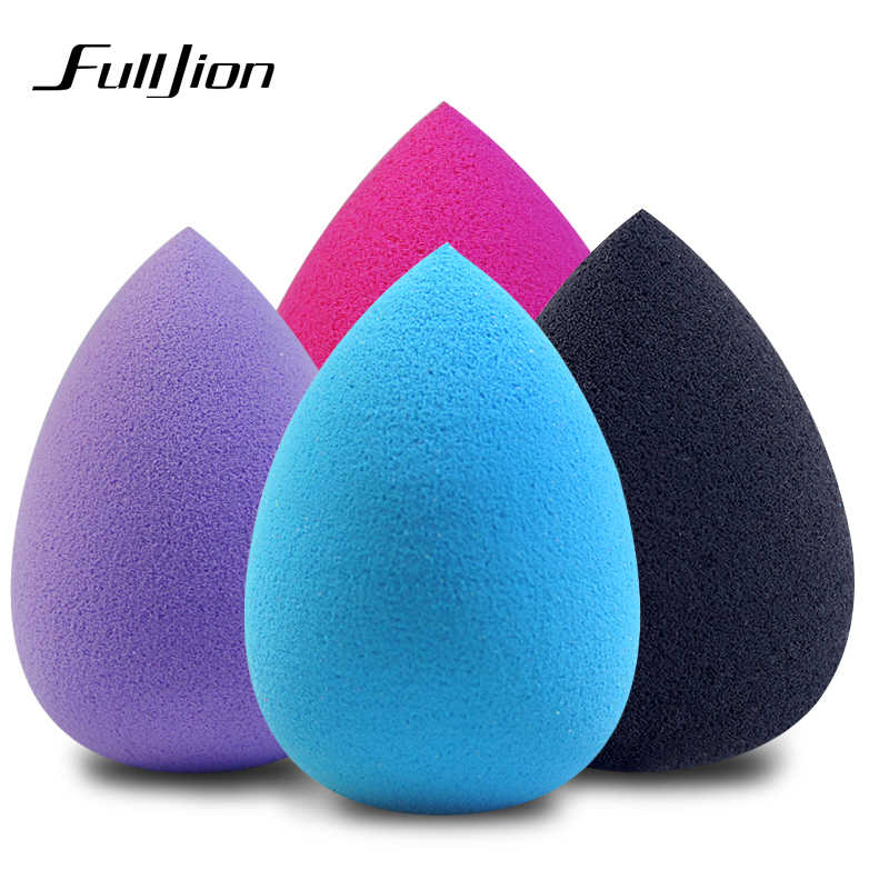 Fulljion קרן איפור ספוג איפור קוסמטי פאף אבקה רך מים Drop צורת יופי קוסמטי איפור ספוג יופי כלים