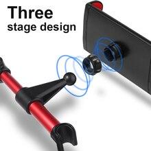 KEYSION Car Headrest Bracket for Smartphone Tablet 4-11 inch Width