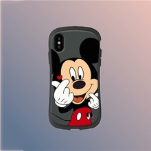 Q UNCLE Phone Case For iPhone X XR XS MAX Soft TPU Finger Heart Mickey Coque 6 6S 7 8 Plus Cover