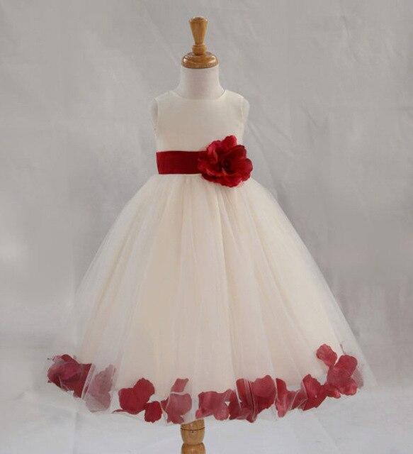 Full princess girls dresses sleeveless summer flower dress party dresses  wedding kids clothing vestido de fiesta infantil menina 77f1974384a4