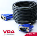vga cable 3+6 / PC HDB15 Male to Male Monitor Extension Cable and Clear display Export Factory Outlets 1.5/3/5/10/15/2025/30/35m